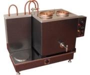 Pleytli İkili Elektrikli Çay Kazanı