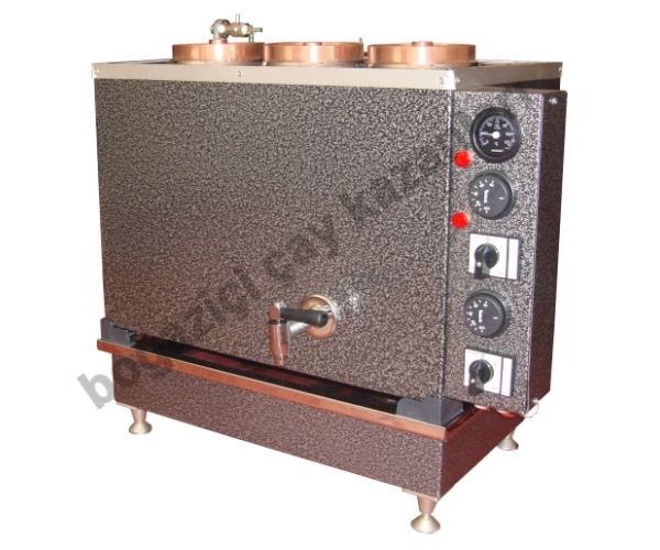 ÜÇlü Büro Tipi Statik Elektrikli Çay Kazanı